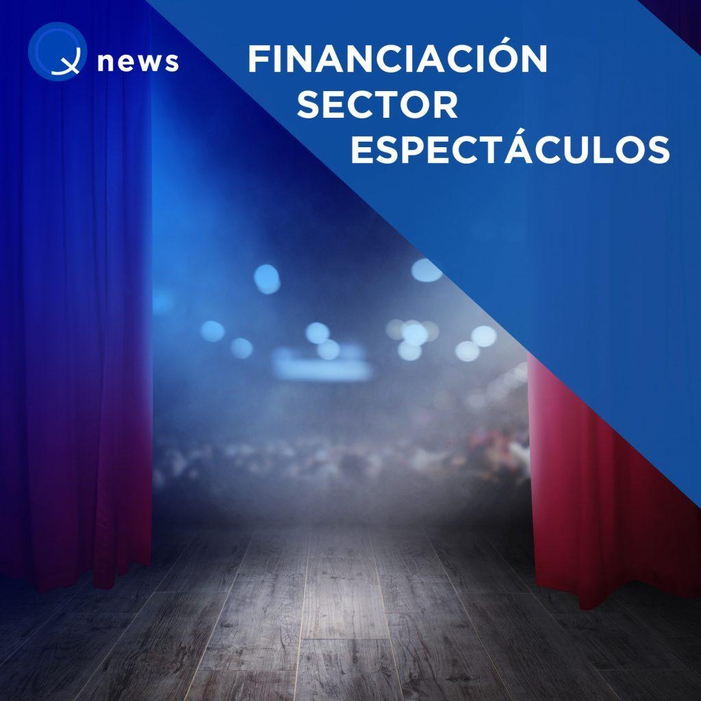 financiación sector espectáculos