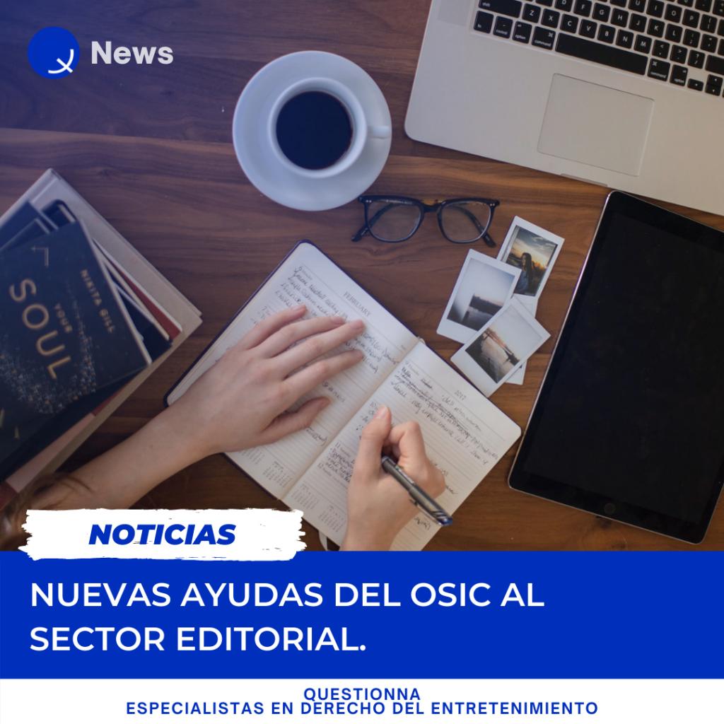Questionna - Nuevas ayudas OSIC al sector editorial